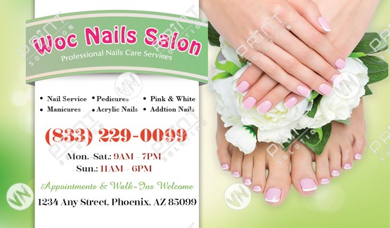nails salon vn print solution nails salon printing design